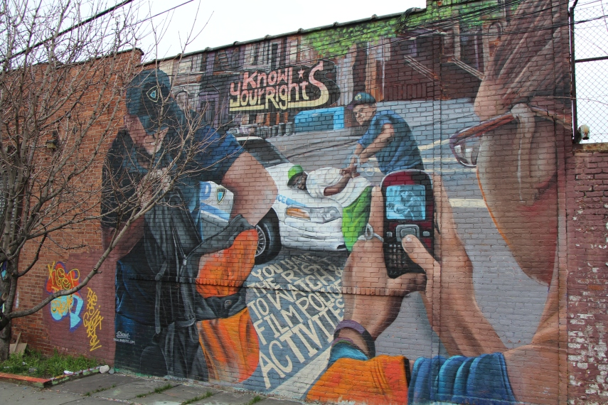 A mural in the Bronx